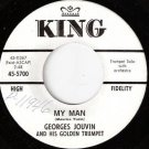 '62 GEORGES JOUVIN 45 My Man - KING Label WLP Promo