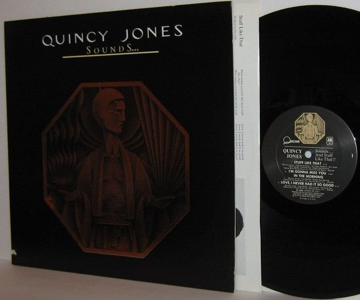 '78 QUINCY JONES LP Sounds . . .And Stuff Like That!!