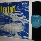 1955 STAN KENTON LP Classics NM / Ex Original Turquoise Label