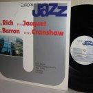 1981 Europa Jazz LP: B RICH I JACQUET K BARRON B CRENSHAW - Near Mint Vinyl