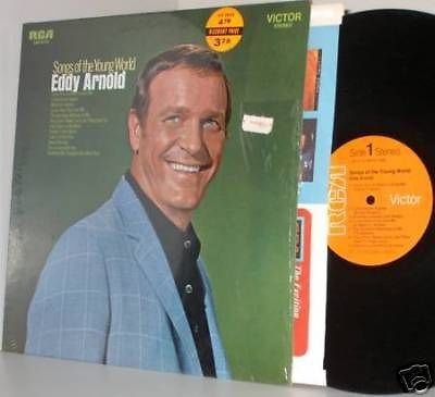 '69 EDDY ARNOLD LP Songs Of The Young World NM/Ex