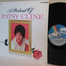 PATSY CLINE re LP A Portrait Of Patsy Cline
