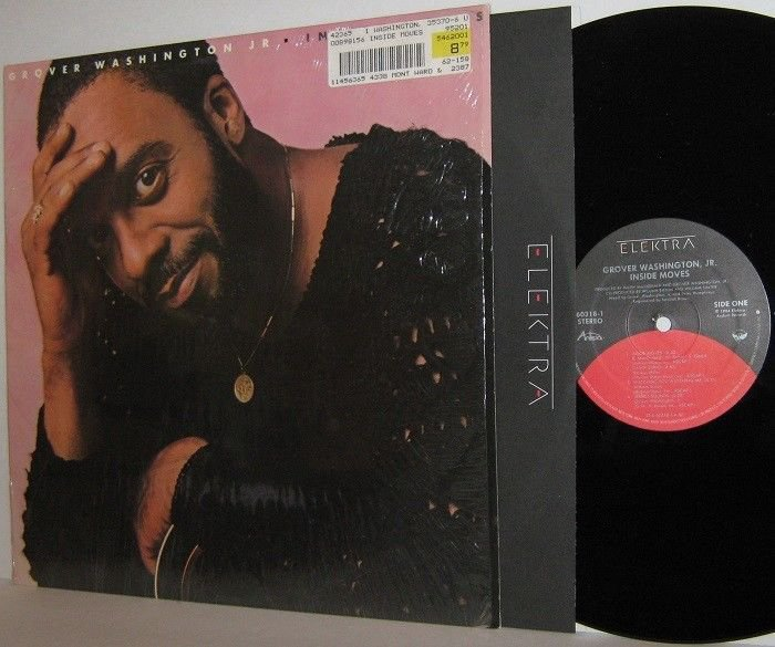 1984 GROVER WASHINGTON JR. LP Inside Moves MINT MINUS in Shrinkwrap