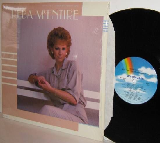 '86 REBA McENTIRE LP What Am I Gonna Do About You NEAR MINT in Shrinkwrap