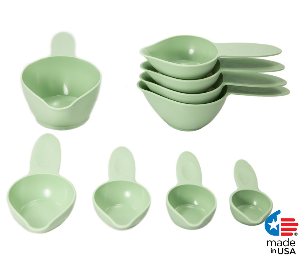 POURfect Measuring Cup Set 9pc Pistachio Made in USA
