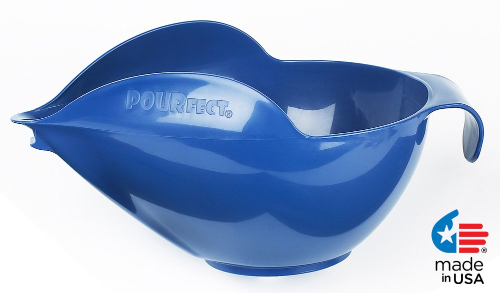 POURfect Mixing Bowl 1020 - 12 Cup Blue Willow Made in USA