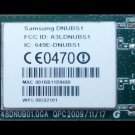 Samsung AK96-01284A  Wireless Lan Module, Network, DNUBS1