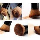 Pro Foundation Blush Angled Flat Top Base Liquid Brush Cosmetic Makeup Tool
