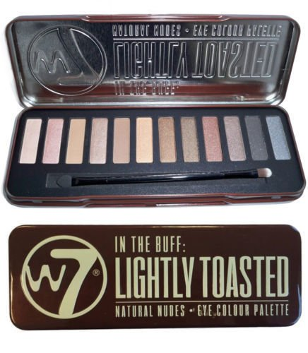 """W7 Eye Colour Palette, """"In The Buff"""" Lightly Toasted"""
