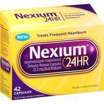Nexium 24HR Acid Reducer, 42 Capsules