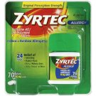 Zyrtec Allergy 24 Hour Tablets, 70ct