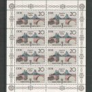 Germany DDR 1985 s/sheet, MNH**