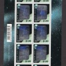 New Zealand. Hologram stamp, full sheet, MNH**