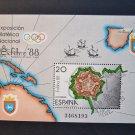 Spain 1988, s/sheet, MNH**