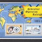 Gibraltar 1988 s/sheet, MNH**