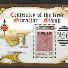 Gibraltar 1986 s/sheet, MNH**