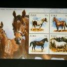 Ireland 2011, horses, s/sheet, MNH**