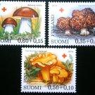 Finland, 1974,mushrooms ,MNH**