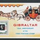 Gibraltar 1990 s/sheet, MNH**