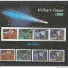 Sri Lanka 1986 Halley Comet,MNH**