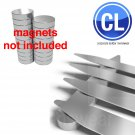 "FREE Shipping Lot of 1000 Collar Stays (500 pair) 2.5"" inch , magnetic steel neodymium"