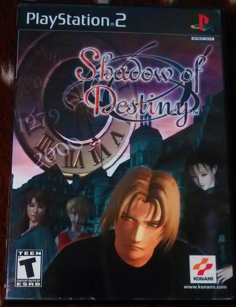 Shadow of Destiny (Sony PlayStation 2, 2001) COMPLETE
