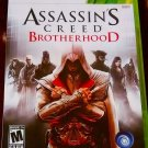 Assassin's Creed: Brotherhood (Microsoft Xbox 360, 2010) CIB COMPLETE