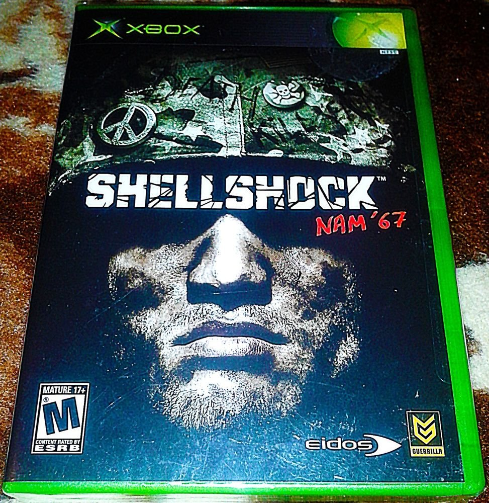 Xbox Game ShellShock: Nam '67 2004 (Brand New Factory Sealed)
