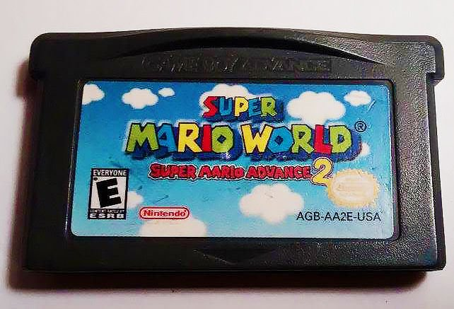 Super Mario World: Super Mario Advance 2 (Nintendo Game Boy Advance, 2002) -...
