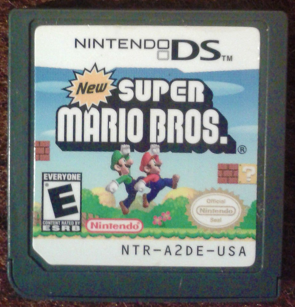 New Super Mario Bros. (Nintendo DS, 2006) Game Only Free Shipping