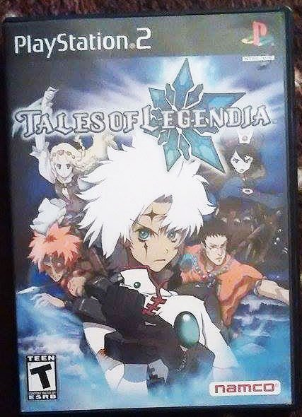 Tales of Legendia (Sony PlayStation 2, 2006) COMPLETE *TESTED* **WORKS PERFECT**