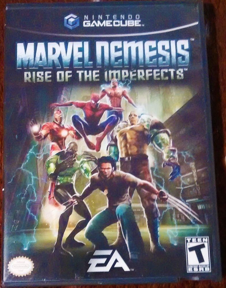 MARVEL NEMESIS: RISE OF THE IMPERFECTS  (Nintendo GameCube, 2005)