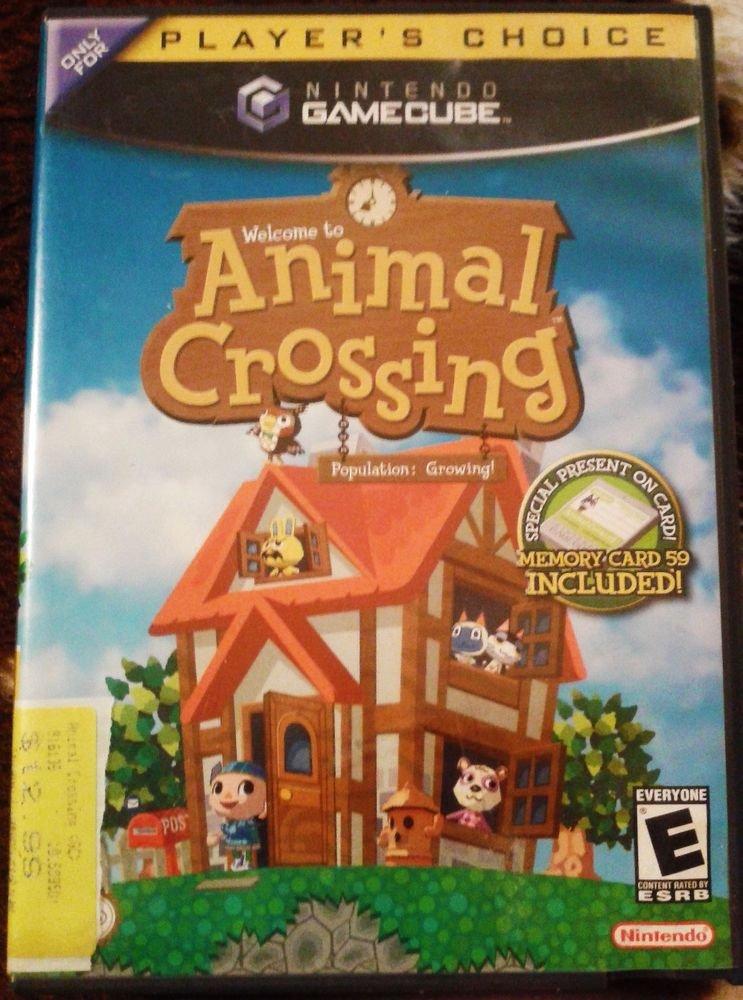 Animal Crossing (Nintendo GameCube, 2002) FREE SHIPPING
