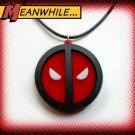 Deadpool Symbol Logo Emblem Face Pendant Necklace