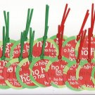 "Set of 16 ""Ho Ho Ho"" Christmas Gift or Hang Tags"