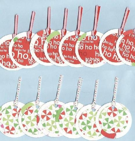 Set of 14 Holy Jolly Christmas Gift or Hang Tags