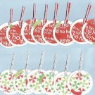 Set of 14 Holy Jolly Christmas Gift or Hang Tags