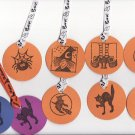 Set of 7 Cute Halloween Medley Gift or Hang Tags + TWO BONUS TAGS