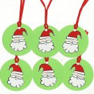 Set of 6 Santa Gift or Hang Tags