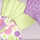 Set of 18 Dimensional Pastel Note Cards