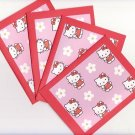 Set of 4 Hello Kitty Cards with Envelopes