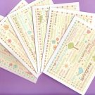 Set of 6 Spring Into Spring Words Cards with Envelopes
