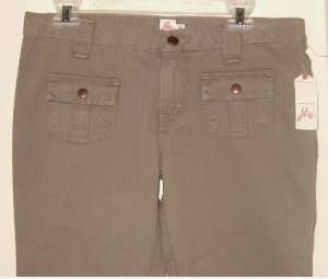 NWT JOIE JEANS SMOKESCREEN SO REAL CAPRI PANTS GRAY size 29 / 6
