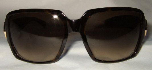 NEW MARC JACOBS SUNGLASSES & CASE VENETIA TORTOISE BROWN & GOLD MJ019 MJ 019