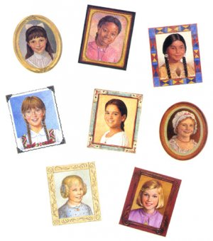 American Girl Circle of Smiles Pins