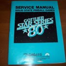 D. Gottlieb & Co. Pinball Games Service Manual