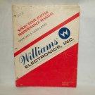 Solid State Flipper Maintenance Manual Original