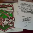 Xevious Operation Manual & Schematics Pkg Orig by Atari