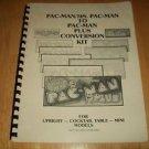 Original Pac-Man Plus Conversion Kit