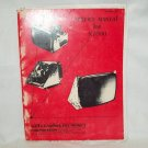 Wells Gardner K7000 Monitor Service Manual Original